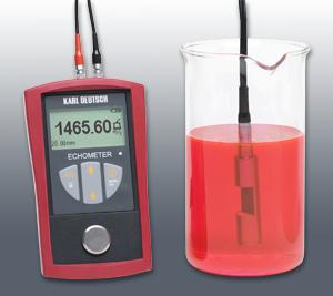 Echometer 1076-K mäter koncentrationen av ett ämne i vätska