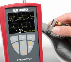 Echometer 1077 tjockleksmätare