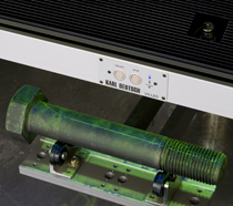 UV-lampa 3846 vid magnetpulverprovning