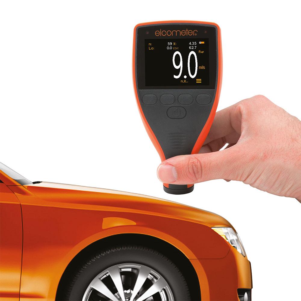 Elcometer 311 mäter snabb, enkelt och noggrannt bilens lackskikt