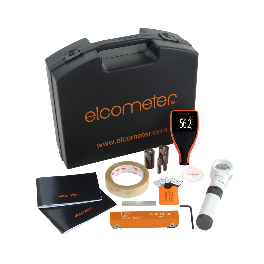 Elcometer inspektionskit för pulverlackering