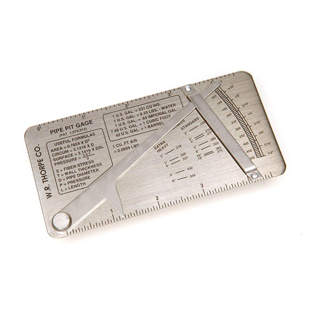 Elcometer-119-Pordjupsmätare för frätgropar