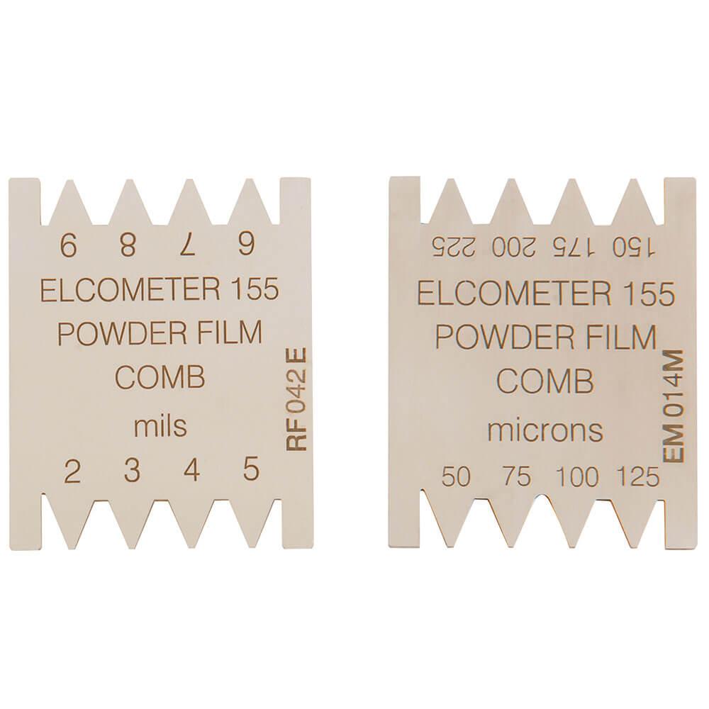 Elcometer-155-pulverkam för kontroll av pulverskikt innan härdning