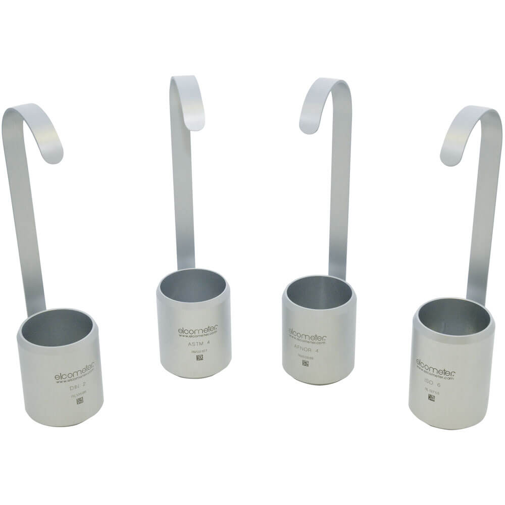 Elcometer-Visckositetskoppar Frikmar-Dip-Cups