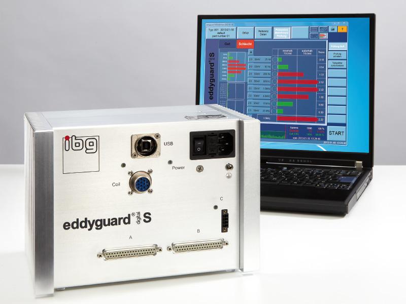 eddyguard- 1 kanal för strukturtest