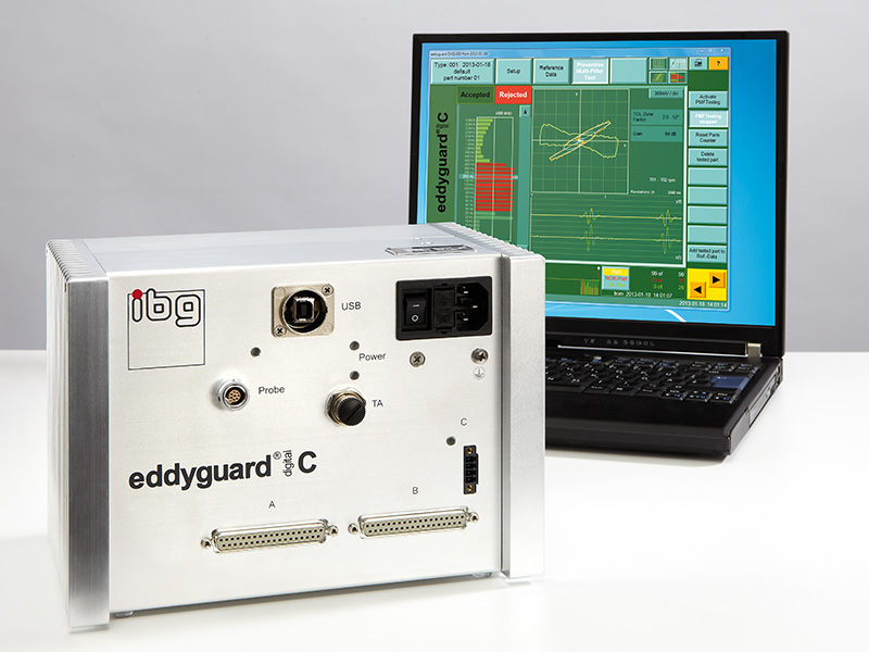 eddyguard-c instrument för spricktest