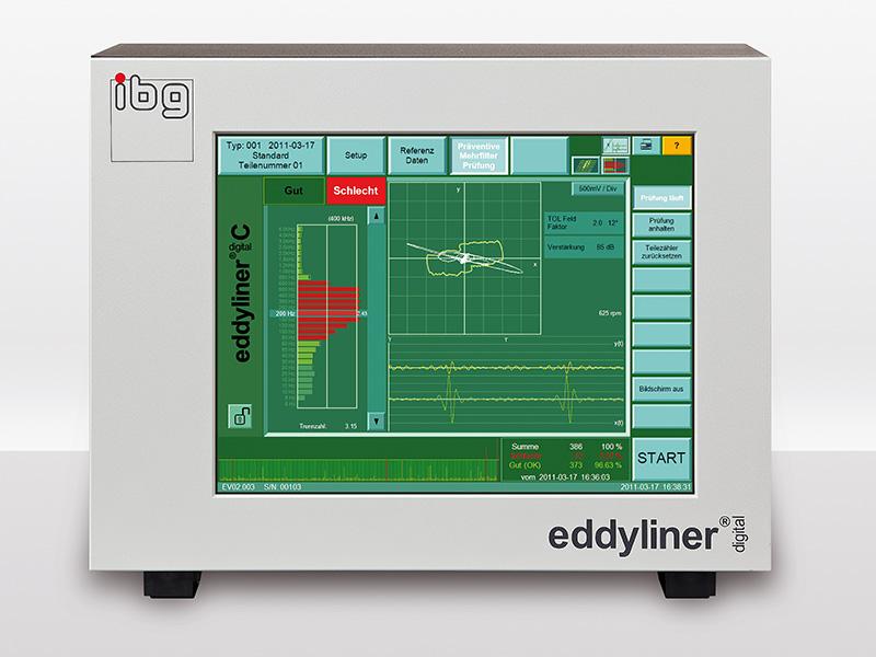 eddyliner-c för sprickprovning