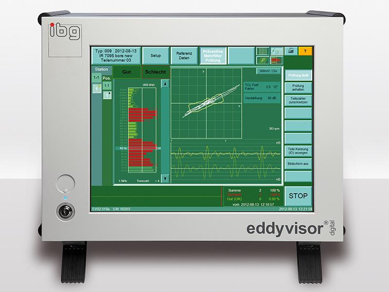 eddyvisor-c för sprickprovning