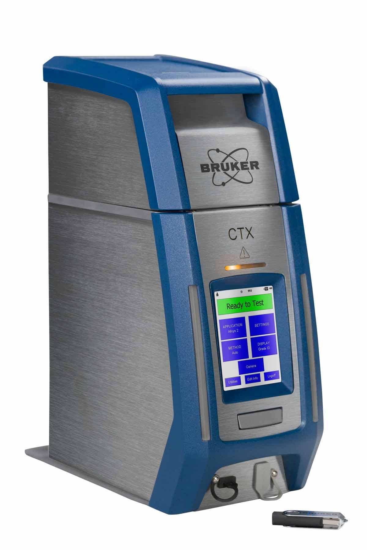 CTX bänkmodell XRF analys