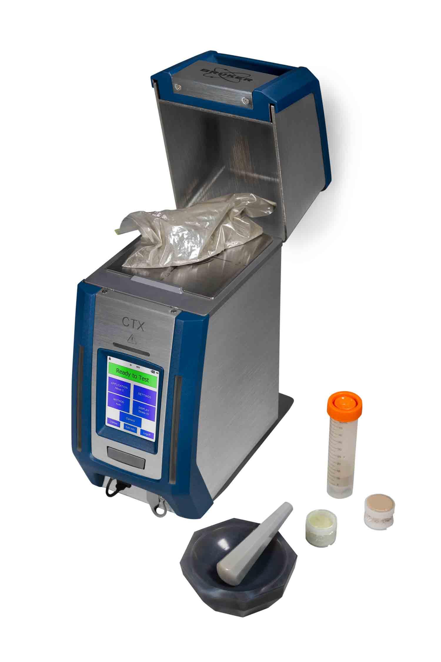 CTX analys av metallpulver