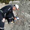 Analys av berggrund med XRF
